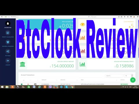 BtcClock Review!  scam OR Real! Paying for the Last 30 Days