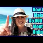 How to Work From Home Online – Make Money Online 2017 & 2018!
