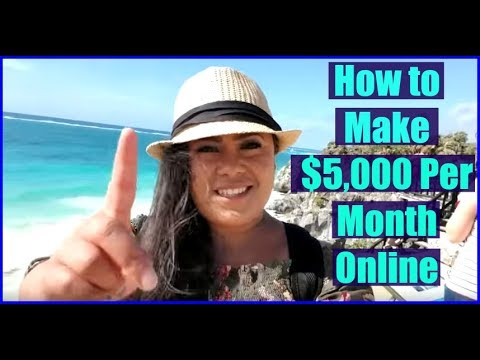 How to Work From Home Online - Make Money Online 2017 & 2018!