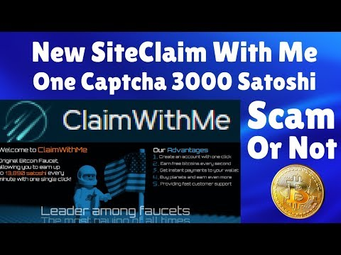 New Famous Site | One Claim 3000 Satoshi | Scam Or NOt | Proof In This Video