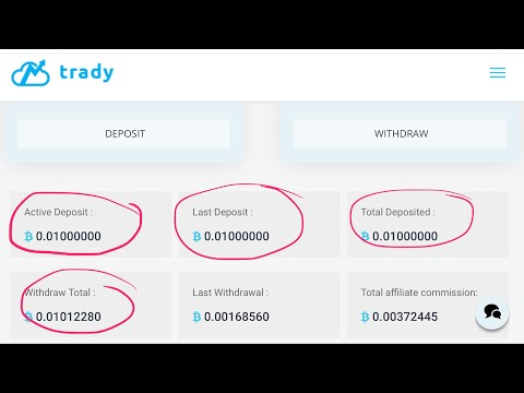 Trady.io - Day 10 - 6th Withdraw- Bitcoin Double/Multiplier Scam?