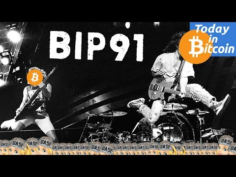 Today in Bitcoin (2017-07-17) - Bitcoin Price Jumps - BIP91 Segwit Activation