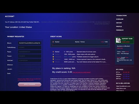 Laser.Online - Day 1 - Withdraw Attempt - Bitcoin Doubler/ Multiplier or SCAM