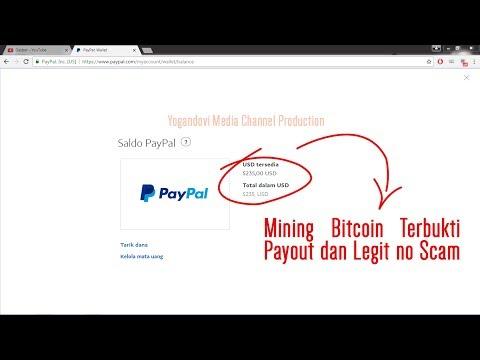 Nambang Bitcoin Terbaru Legit no Scam Terbukti Masuk Paypal!!