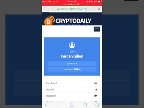 CryptoDaily.io - Day 11 - Withdraw - Bitcoin Doubler/ Multiplier or SCAM
