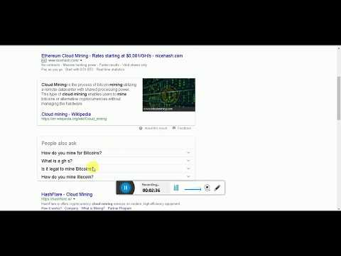Are Free Bitcoin ning Sites Legit | Free Cloudming Sites Are Scam