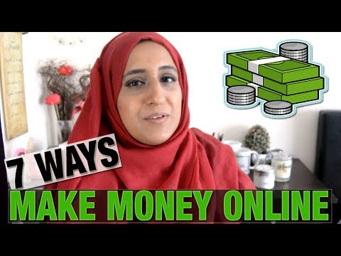 7 WAYS TO MAKE MONEY ONLINE | Shamsa