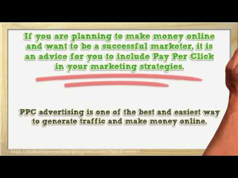 Learn How To Make Money Online Through Pay Per Click (PPC)