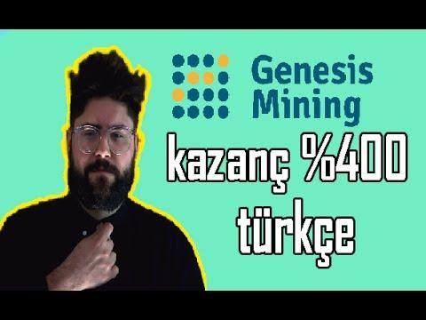 Genesis mining türkçe 400% kazanç ...Madencilik şifreleme için en iyi çiftlik