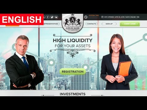 Aurum Bank Review New Investment Site Payment Proof Paying or Scam New HYIP Site 2017