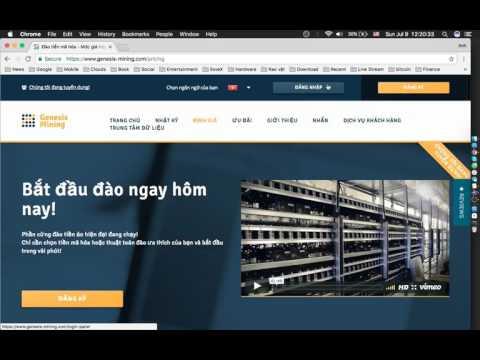 Đào Bitcoin Bằng Genesis Mining (Tiếng Việt) - Đầu Tư Thật - Lãi Thật