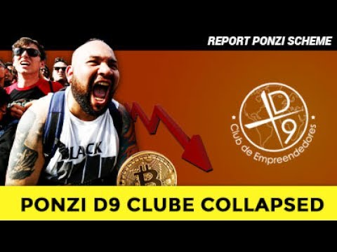PONZI D9 CLUBE COLLAPSED. READY FOR NEW SCAM?