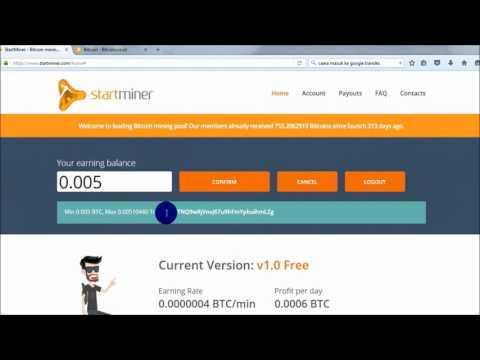 STAR MINER SCAM ATAU TIDAK(mining Bitcoin)