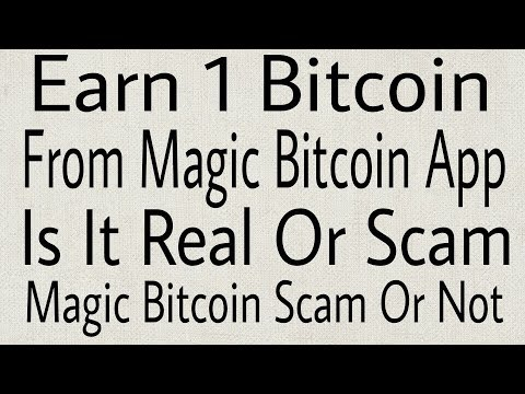 Earn 1 Bitcoin-is It Real Or Fake-Magic Bitcoin Scam Or Not-Magic Bitcoin Hindi