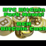 BitCoin BTC fork news update. BCH on Cryptopia