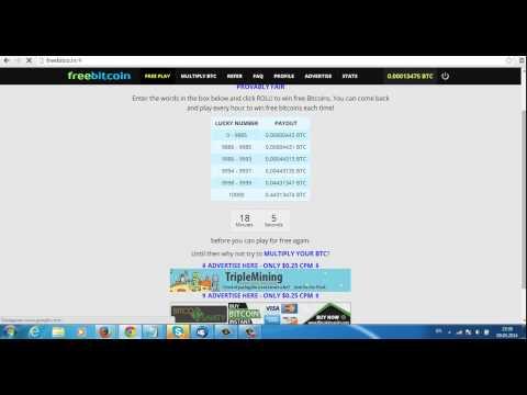 Бесплатная програма для зароботка Bitcoin, на сайте FreeBitcoin1
