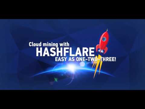 Bitcoin Cloud Mining - HashFlare - Easy as one two three