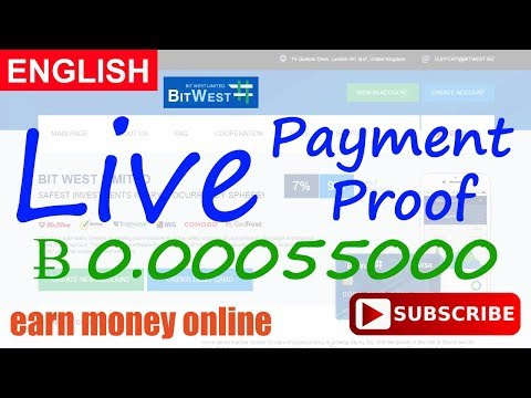 BitWest Payment Proof Review New Bitcoin Investment Site Paying or Scam New HYIP Site 2017