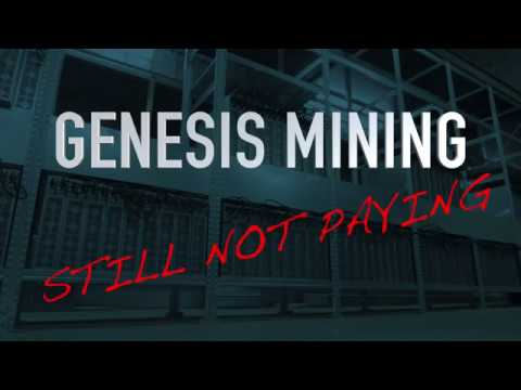 Genesis Mining not paying - SCAM??? August 9 2017