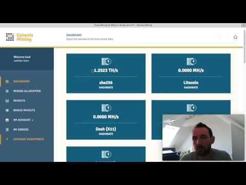 Genesis Mining-Navod Ako Tazit Bitcoin 2017. Genesis Mining Dash Roi