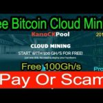 KanoCKPool/ 100Ghs Free Bitcoin Mining Site 2017/ Paying Or Scam Proof