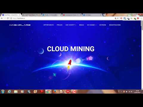 Come Minare Bitcoin Etherum Dash Zec Con Hashflare Italiano. Hashflare News