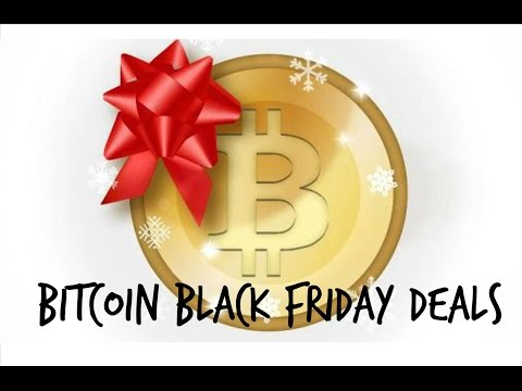 Bitcoin Black Friday Deals - NewsWatch Miunute