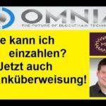 OMNIA Mining Einzahlung [NEWS] I Bank-Überweisung möglich, Bitcoin, E-Wallet, Kreditkarte