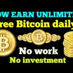(Free) How to earn unlimited bitcoin without investment