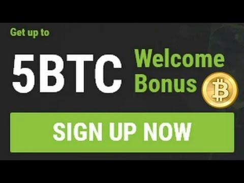 Earn 5 bitcoin as a signup bonus !!