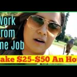 Working From Home Jobs – How to Make Money Online Working From Home 2017 & 2018