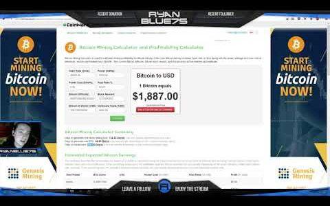 Bitcoin Mining Roi Calculator 2017 With Genesis Mining!. Genesis Mining Webinar