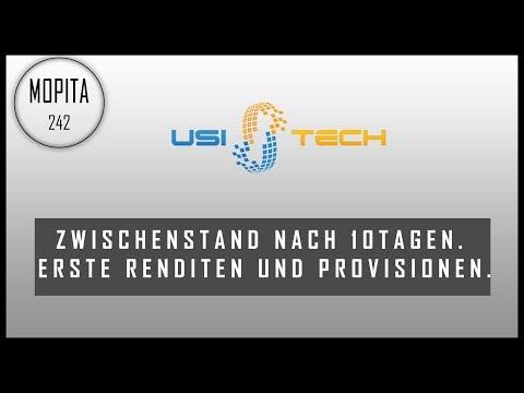 Usi-Tech nach 10Tagen. Scam/Hyip der Erfahrungsbericht? Provisionen Renditen und co.