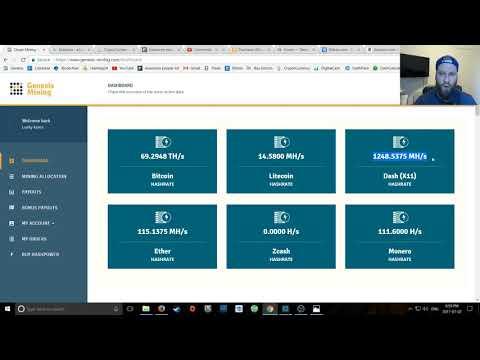 2017 Genesis Mining / Dash X 11 Roi - Upgrade !. Genesis Mining Zcash