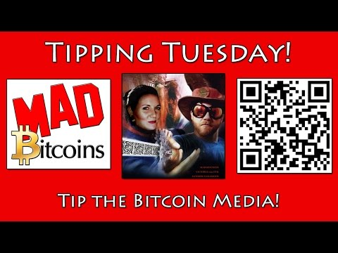 Tipping Tuesday — Tip $2 to the Bitcoin Media Today!