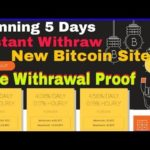 Bitvolt Bitcoin Earning  – Instant Withdraw, Live Withrawal Proof / Bitcoin Mining