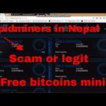 Rapidminers in Nepal (Free Bitcoins mining) Scam or Legit)