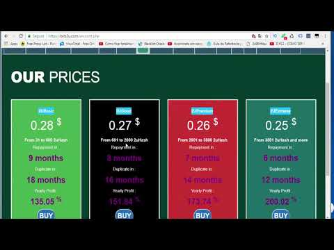 BITS2U Earn Free Bitcoins   PTC   Paid to Click   Bitcoin Cloud Mining