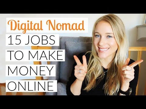 HOW TO MAKE MONEY ONLINE (15 JOBS 2017 )