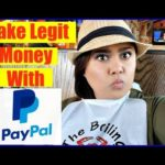 How To Make Money Online Fast with Paypal – How to Make Money With Paypal Working From Home!