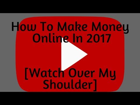 How To Make Money Online In 2017 [Yes, this Works!]