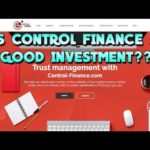 IS CONTROL FINANCE A GOOD INVESTMENT?? IS IT A SCAM??