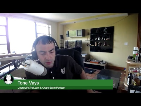 Bitcoin news with king of crypto TONE VAYS