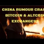 China Rumour Crash Bitcoin Ethereum Litecoin Exchanges? Find Out Why