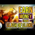 Earn from Clash of Clans, Make money online from mobile games, coc, easy way to make money online