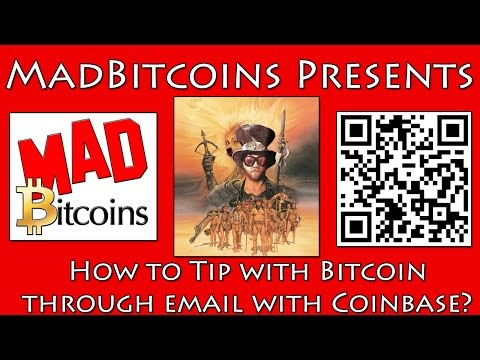 How to Tip Bitcoin through Email with Coinbase