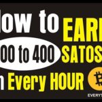 How to earn free satoshi (NO SCAM _ Bitcoins) in every hour (300 to 400 satoshi by Sadomi)