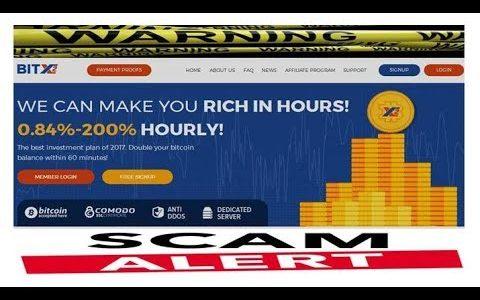 Bitx2.biz Bitcoin (day 0 ) SCAM ALERT–Do Not Join…..