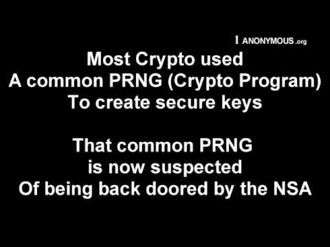 1 ANONYMOUS ORG – BITCOIN IS NSA PROJECT
