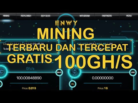 mining terbaru oktober gratis 100 gh/s